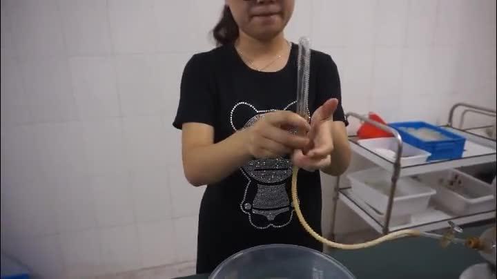 人教版 九年级化学 第四单元 检验氢气及氢气燃烧-检验氢气纯度-视频实验演示