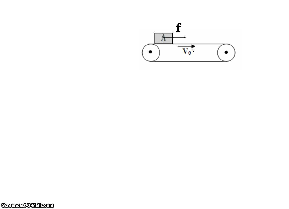人教版高中物理 机械能2 水平传送带-视频微课堂