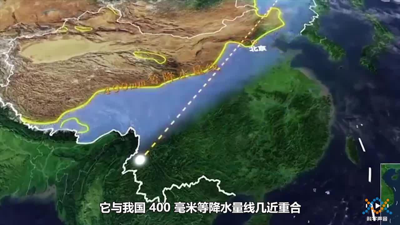 14-1-5 中國的黑河-騰沖線-【科學聲音】七年級下冊科學微課視頻(滬教版)