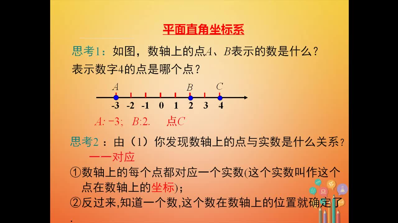 人教版 七年级数学下册 平面直角坐标系 张建荣-视频微课堂
