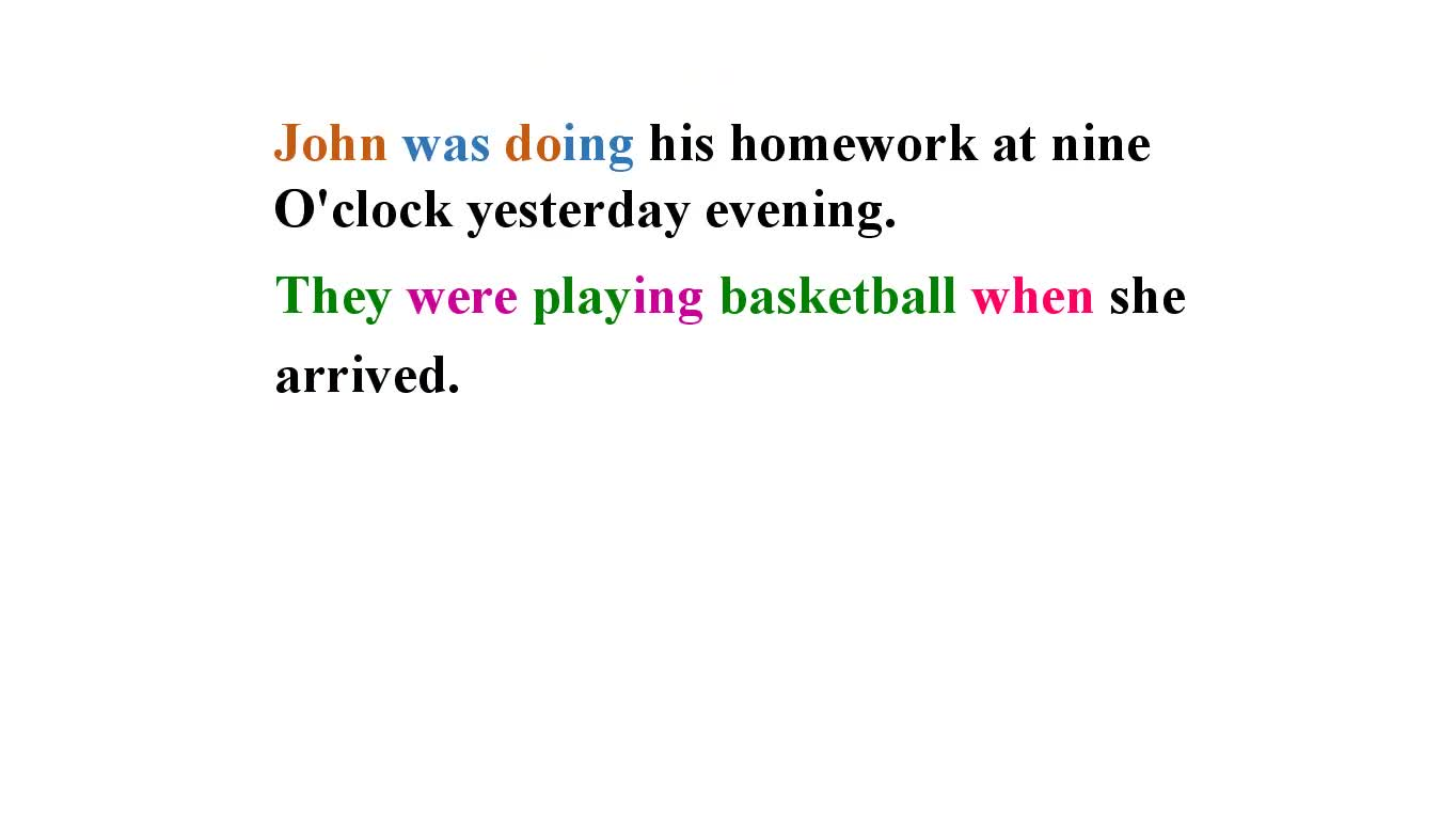 人教版 八年级英语下册 过去进行时 汪文斌-视频微课堂