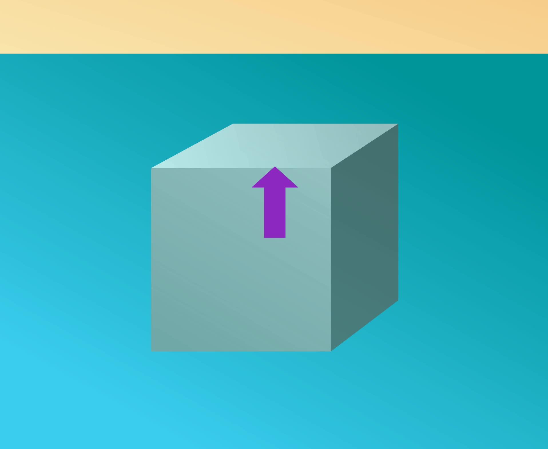 八年级物理:浮力产生的原因-视频素材