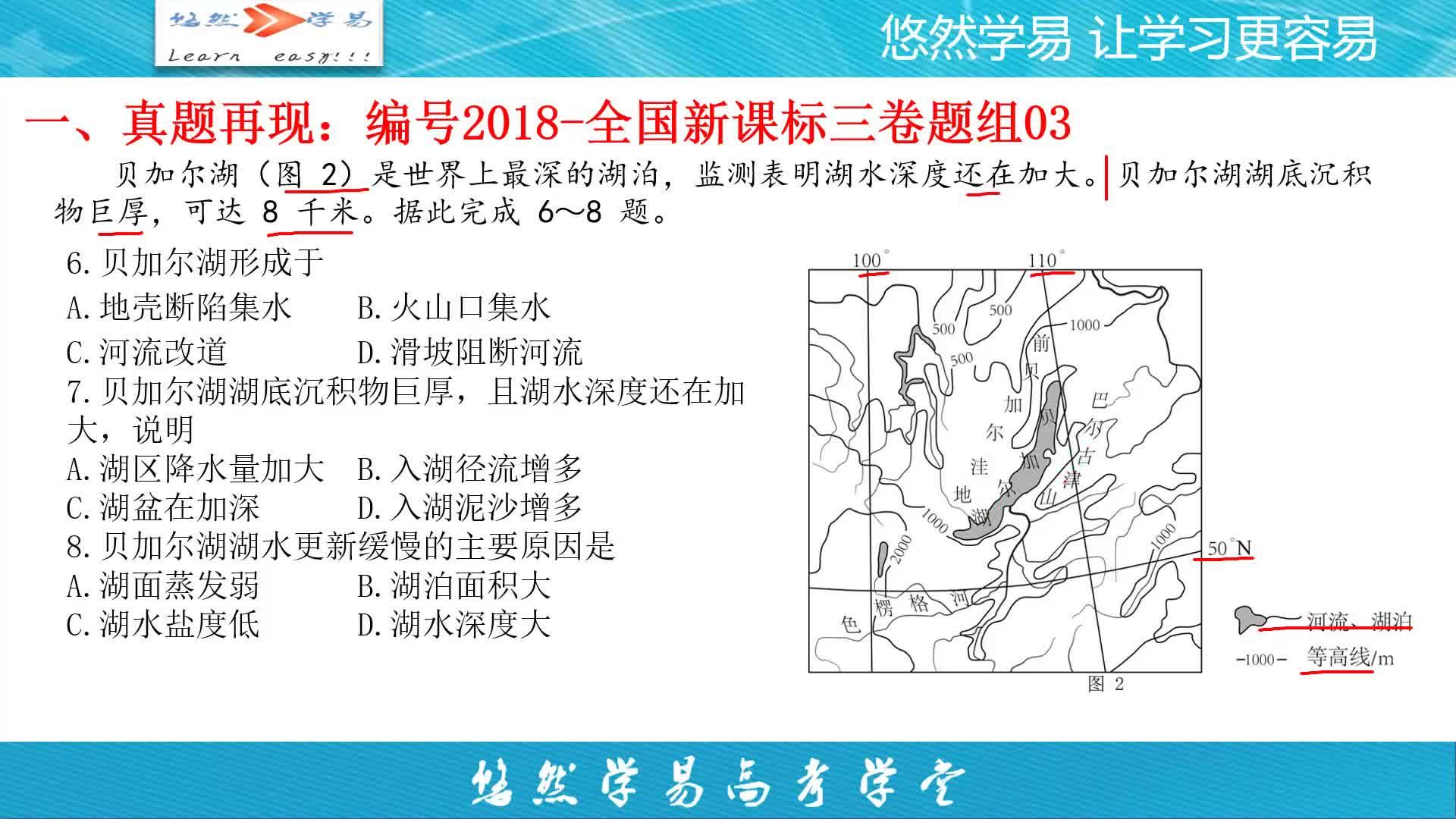 選擇題題組03(第6&7&8題)-【地理老馬講高考真題】系列第七季2018年高考地理新課標三卷