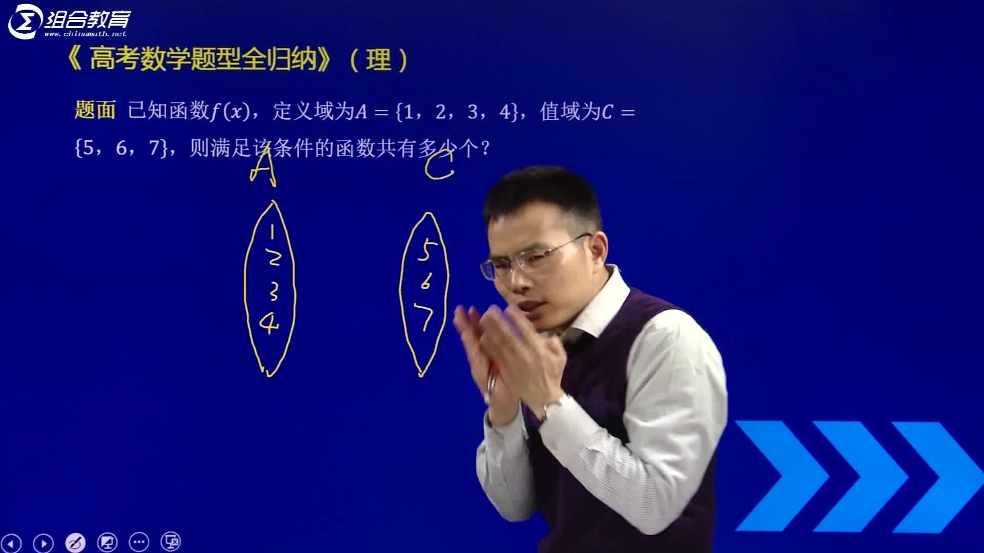 视频2.1 映射与函数的概念-【洞穿高考】2020版高考理科数学题型全归纳