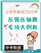 上海市备战2020年中考物理压强压轴题专项大剖析