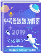 2019年中考化学母题题源系列
