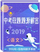 2019年中考语文母题题源系列