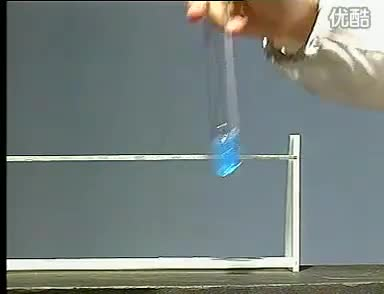 滬教版 九年級下 化學 第八章  第2節   糖類  油脂 葡萄糖與新制氫氧化銅懸濁液反應-實驗演示視頻