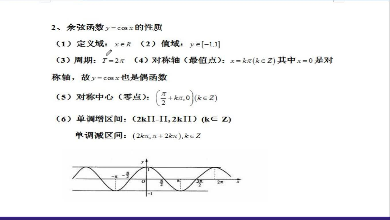 高考数学精品微专题系列第二十讲:三角函数的性质及应用-视频微课堂