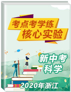 2020年浙江新中考·科学核心实验考点考学练