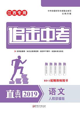 2019年《追击中考》系列语文(江西专用)