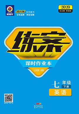 2019-2020学年初中同步练案【导与练】七年级下册初一英语(人教版)