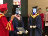 """南邮以机器人代学生举行""""云毕业典礼"""" 网友赞有仪式感"""
