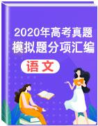 2020年高考真題和模擬題語文分項匯編