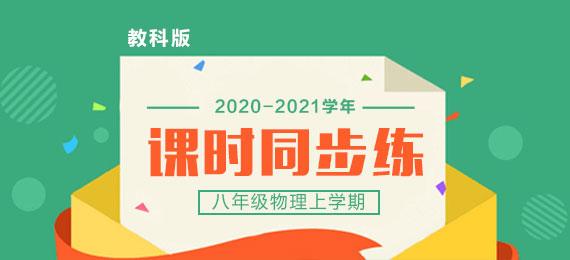 2020-2021学年八年级物理上学期课时同步练(教科版)