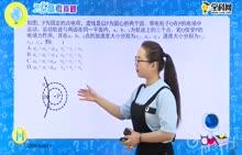 高中物理 静电场的性质选择题:带电粒子在电场中的运动-轨迹问题(1)-试题视频
