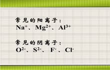 人教版 九年级化学 几种常见离子的形成-视频微课堂