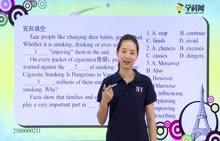 初中英语 完形填空:选择填空2-试题视频