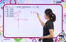 初中数学 平面直角坐标系:点的坐标-试题视频