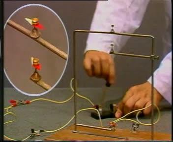 人教版 九年级物理教学素材:奥斯特实验-视频素材