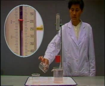 人教版 九年级物理教学素材:阿基米德定律实验-视频素材