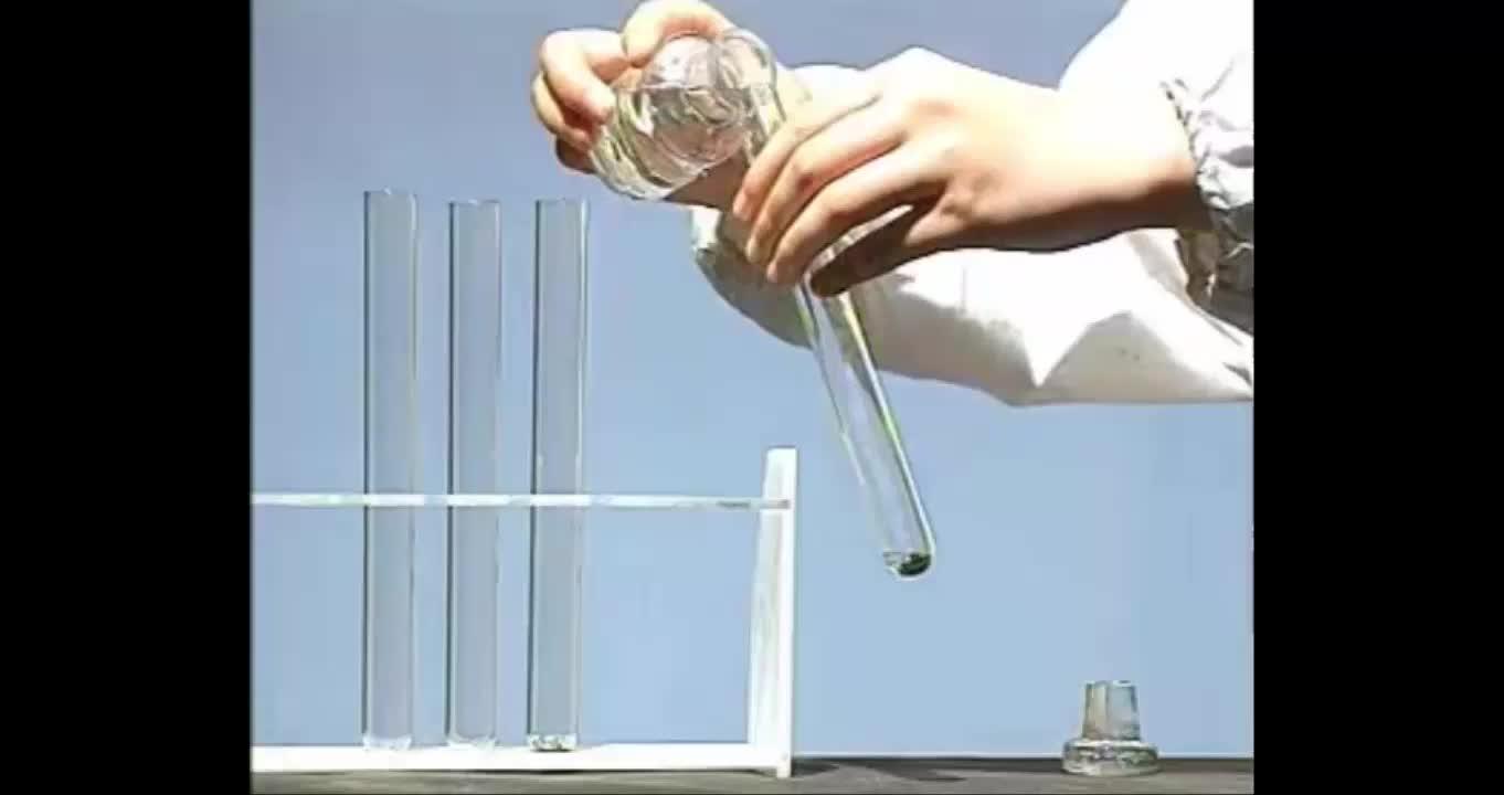 人教版 化学必修一 铁、铜及其化合物的应用-视频实验演示