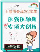 上海市備戰2020年中考物理壓強壓軸題專項大剖析
