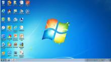 人教版 七年级信息技术上册 第二章 第二节 软件系统--桌面的组成-视频微课堂