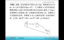 第4章 第7.3節 專題:傳送帶問題--水平與傾斜傳送帶的結合(視頻)-高中物理 必修1【一滴水】
