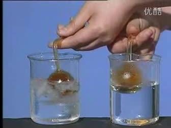 高二化学:温度对化学平衡的影响-实验演示视频