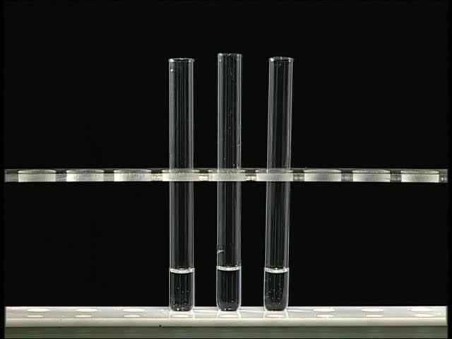 高二化学:(加入二氧化锰)催化剂对化学反应速率的影响-实验演示视频