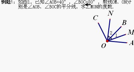 河南滑县老店镇第一初级中学2019七年级数学上册角的运算(关于从特殊到一般的方法1)微课视频
