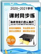 2020-2021学年高中课时同步练