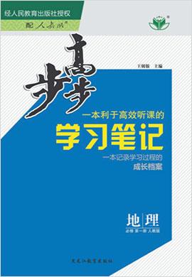 (课件)2020-2021学年高一新教材地理必修第一册【步步高】学习笔记(人教版)
