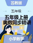 五年级上册奥数同步精讲精练(苏教版)