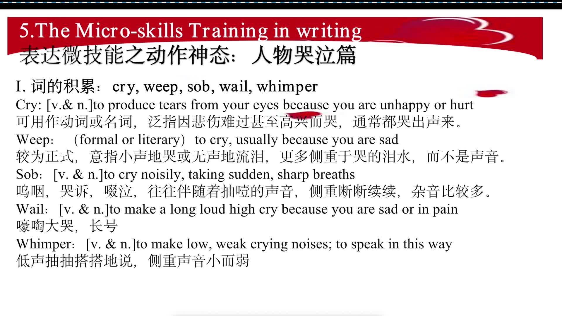 2.9 passing happiness on -3如何获得高分(视频)-高考英语作文新题型
