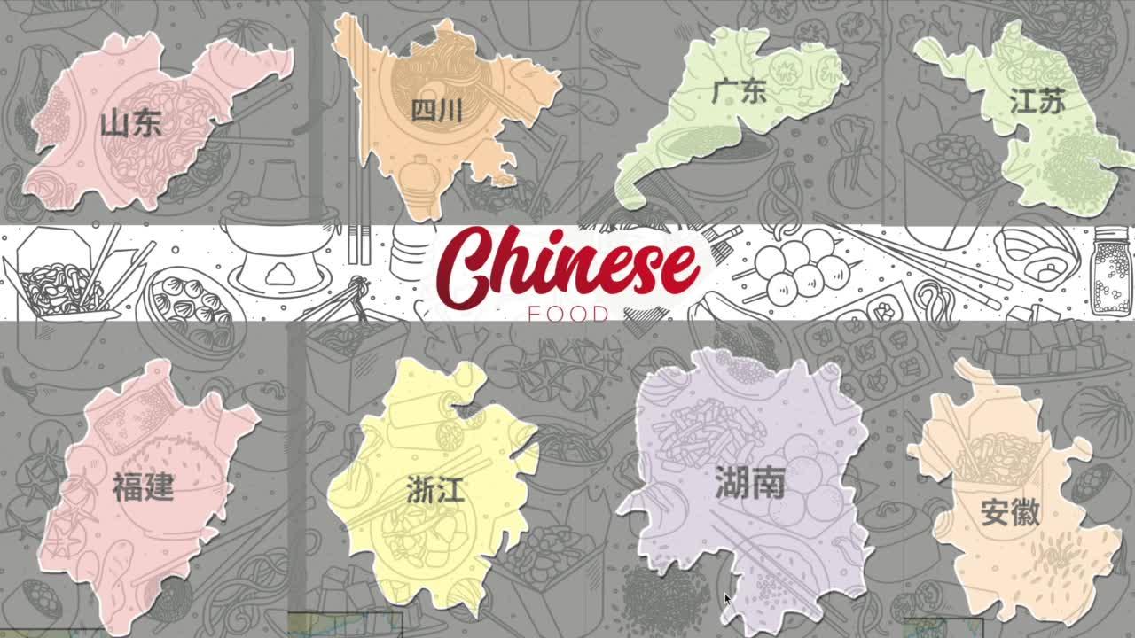 第四章 中国特色美食-【火花学院】人教版八年级地理上册 中国的经济 第四章 中国的经济发展 知识点 地方文化特色与旅游 [来自e网通客户端]