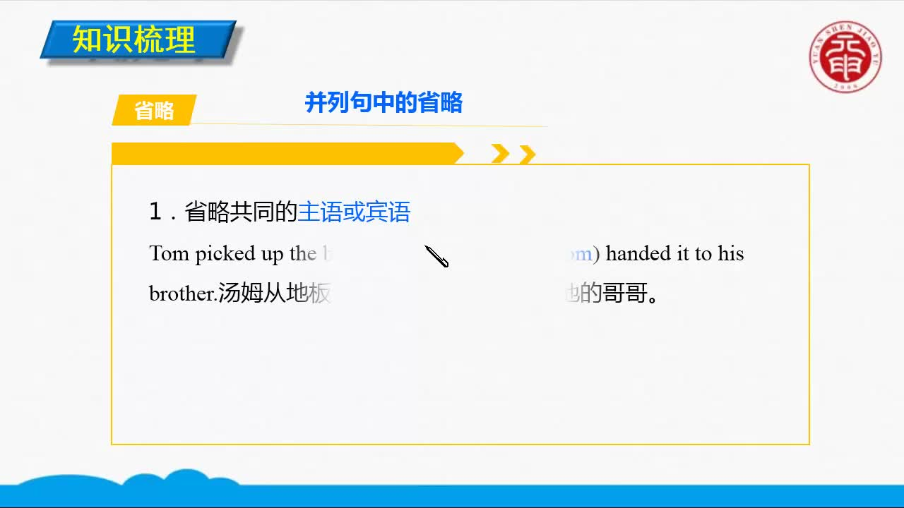 Unit 5 First aid(1)-高中英语必修五【语法精讲微课】