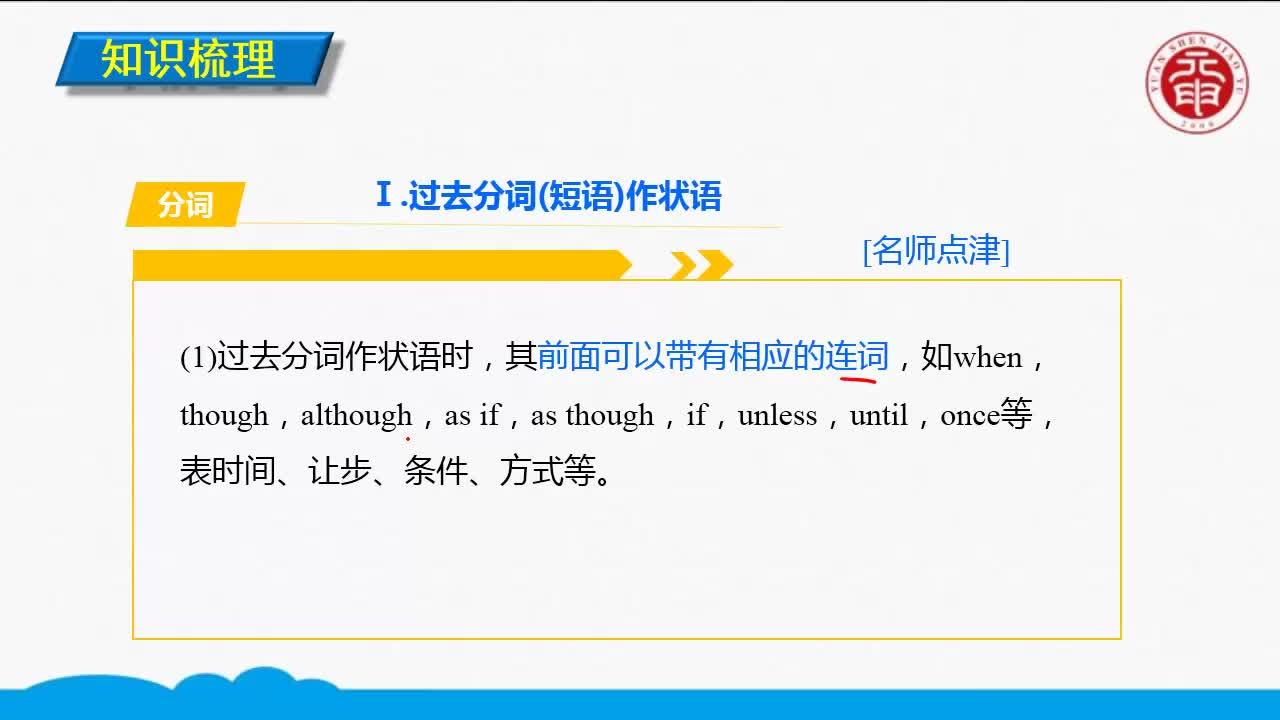 Unit 3 Life in the future(2)-高中英语必修五【语法精讲微课】