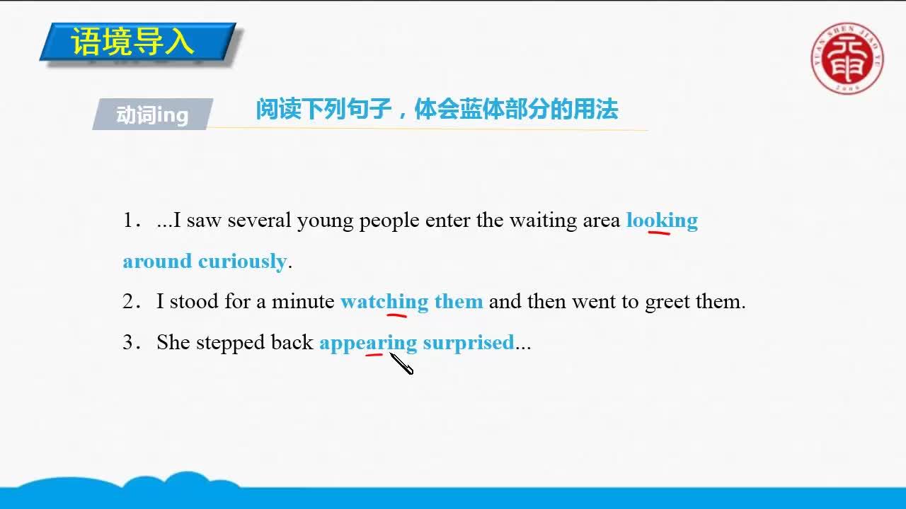 Unit 4 Body language(1)-高中英语必修四【语法精讲微课】