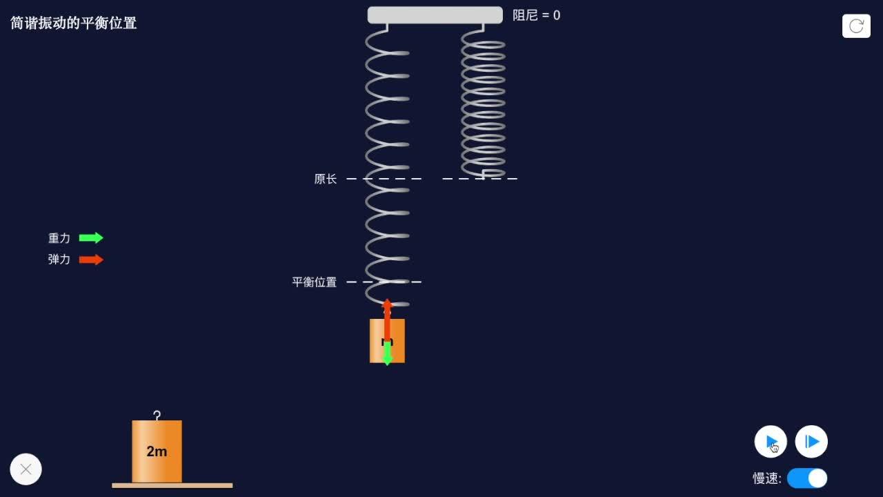 【限时折扣】11.3 竖直弹簧振子的恢复力-【火花学院】人教版选修3-4高二物理