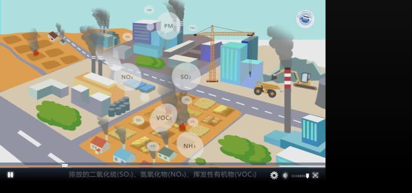 山东省生态环境厅--5分钟了解大气污染与控制(微视频)[来自e网通极速客户端]  高二地理选修6环境保护 视频素材 大气污染与控制(微视频)