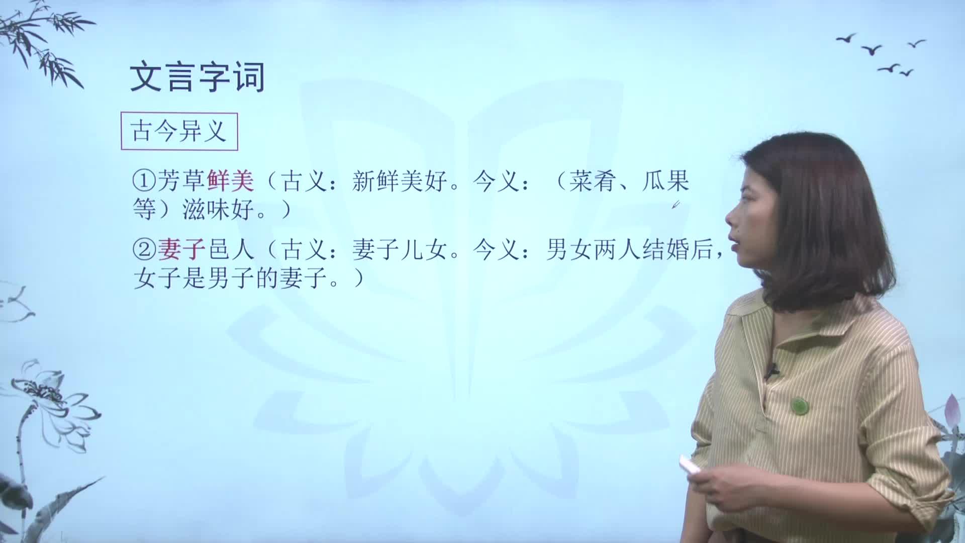 视频3.9.2桃花源记【慕联】初中完全同步系列新编人教版(部编版)语文八年级下册