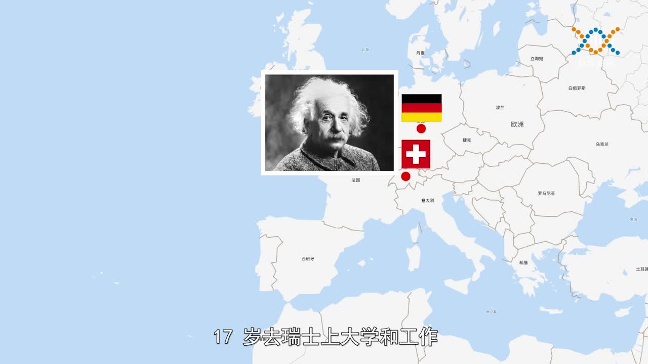 1-2-1 科学家的故事之爱因斯坦-【科学声音】六年级上册科学微课视频(沪教版)