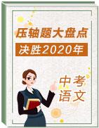 决胜2020年中考语文压轴题大盘点