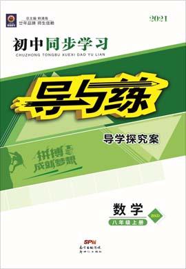 2020-2021学年八年级上册初二数学【导与练】初中同步学习(北师大版)