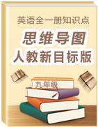 九年级全一册英语知识点思维导图(人教新目标版)