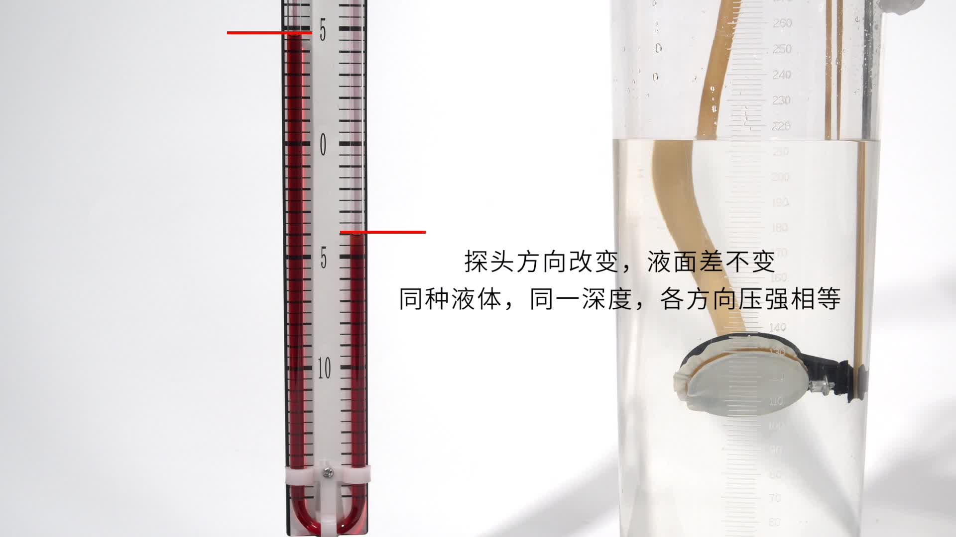 【限时折扣】9.2 探究液体压强的影响因素-【火花学院】人教版八年级物理下册 第九章 压强 第二节 液体的压强 知识点 探究液体压强的影响因素 [来自e网通客户端]