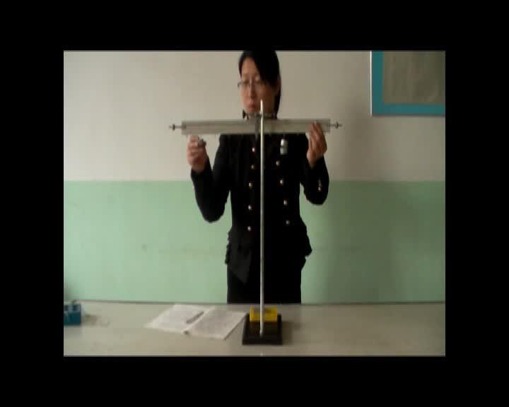 初中物理实验操作视频:探究杠杆平衡条件 mpg