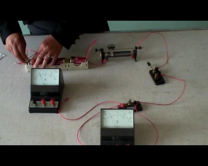 初中物理实验操作视频:  测量小灯泡的额定功率  mpg